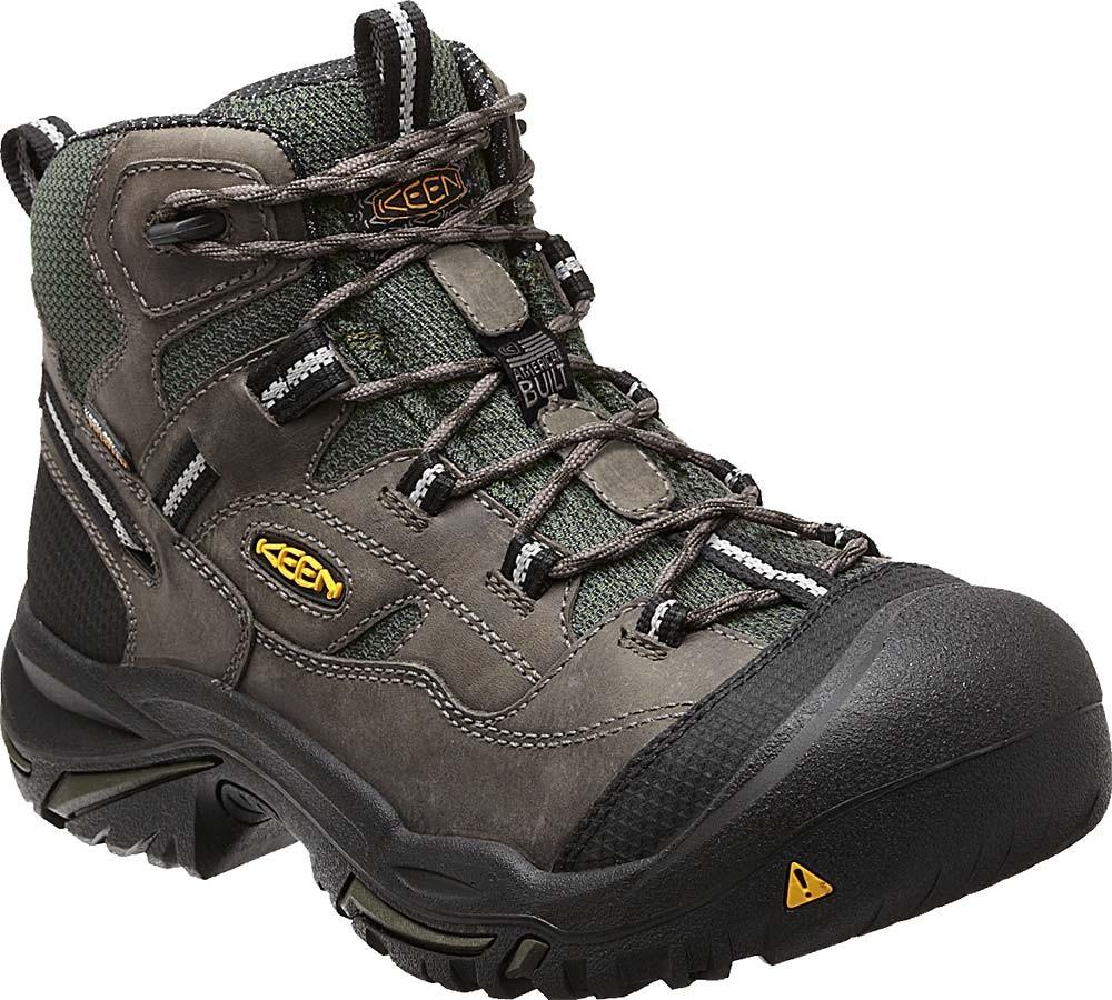 Keen Braddock Mid Wp Boot Gargoyle Mens Gsa Boots