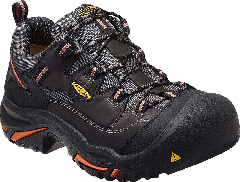Keen Braddock Low Shoe Black Mens Gsa Boots
