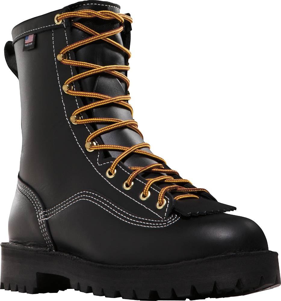 Danner Super Rain Forest 200 Gram Boots Black Mens