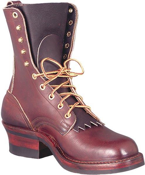 Nick S 55r Ranger 8 In Work Boots Walnut Mens Gsa Boots