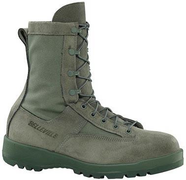 Belleville 690 Waterproof Sage Green Flight Boots Usaf