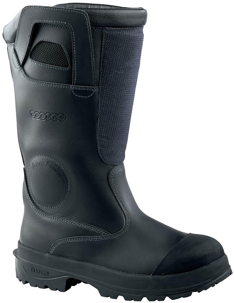 840e40eb854 Cosmas Titan Firefighter Boots - Black - Mens