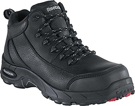 5f99b56778e9 Reebok Black Waterproof Safety-Toe Hiker - Mens - GSA Boots