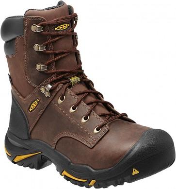 Keen Mt. Vernon 8 in Steel Toe Boots - Cascade Brown - Mens