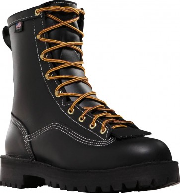 Danner Super Rain Forest 200 gram Boots - Black - Mens