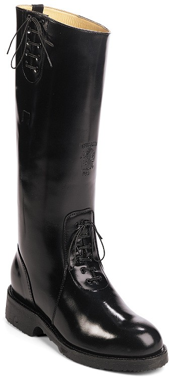 Chippewa 27950 17-in Polishable Trooper Boot - Black - Mens