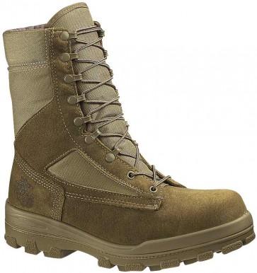 Bates DuraShocks USMC Certified EGA Steel Toe Boots - Olive Mojave - Womens
