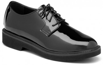 Rocky High Gloss Dress Leather Oxford Shoes - Black - Womens