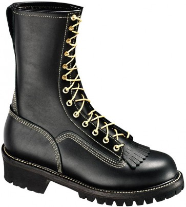 Thorogood 10-in Wildland Fire With Removable Kiltie Boots - Black - Womens