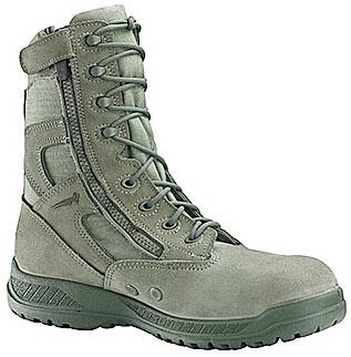 Belleville 610Z Hot Weather Tactical Side Zip Boots - Sage Green - Mens