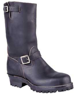 Wesco Boss 11-in 100 Vibram Boots - Black - Mens
