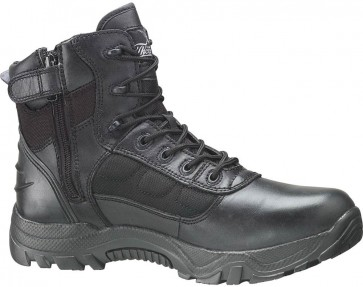 Thorogood 6-in Waterproof Side-Zip Safety Toe Deuce Boots - Black - Womens