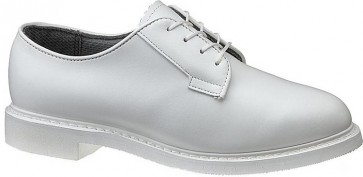 Bates Lites White Leather Oxford Shoes - White - Mens