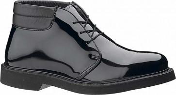 Bates Lites Padded Collar High Gloss Chukka Shoes - Black - Mens