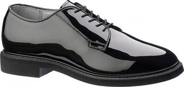 Bates Lites High Gloss Oxford Shoes - Black - Mens