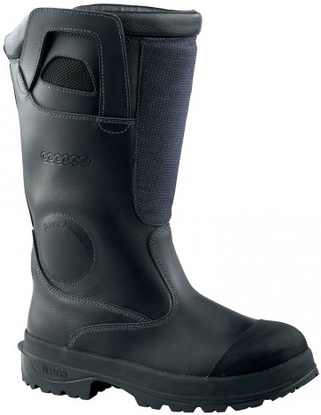 Cosmas Titan Firefighter Boots - Black - Mens