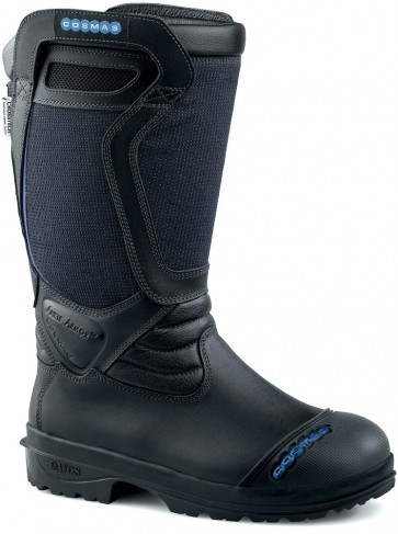 Cosmas Vulcan Firefighter Boots - Black - Mens