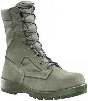 Belleville 600ST Hot Weather Safety Steel Toe Boots - Sage Green - Mens