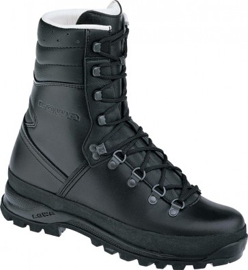 Lowa Mega Camp Task Force Boots - Black - Mens