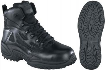 Reebok Stealth SWAT 6-in Safety-Toe Boot - Black - Mens