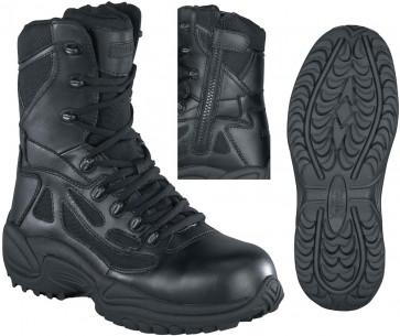 Reebok Black Stealth SWAT 8-in Waterproof Boot - Black - Mens