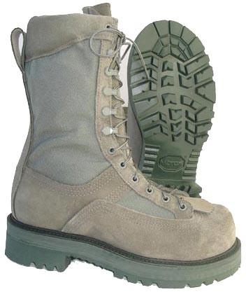 Hoffman Boots 10-in Powerline Boots - Sage Green - Mens