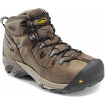 Keen Detroit Mid Steel Toe Work Boots - Slate Black - Mens