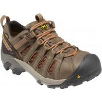 Keen Flint Low Work Shoes - Shitake Rust - Mens