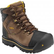 Keen Milwaukee WP Steel Toe Work Boots - Dark Earth - Mens