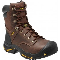 Keen Mt. Vernon 8 in Steel Toe Boots - Cascade Brown - Mens
