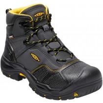 Keen Logandale Waterproof Steel Toe Boot - Black - Mens
