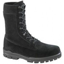 Bates 9-in US Navy Suede DuraShocks Steel Toe Boot - Black - Womens