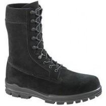 Bates 9-in US Navy Suede DuraShocks Steel Toe Boot - Black - Womens