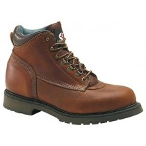 Carolina 1309 Kodiak Mid 6-in Safety Toe Boots - Brown - Mens