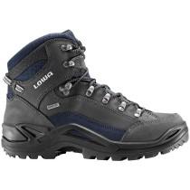 Lowa Renegade GTX Mid Hiking Boots - Dark Grey/Navy - Mens