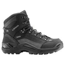 Lowa Renegade GTX Mid Hiking Boots - Black - Mens