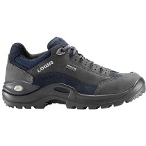 Lowa Renegade GTX Lo WS Shoes - Dark Grey/Navy - Womens