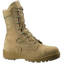 Belleville Hot Weather 340 Flight Safety Toe Boots - Desert - Mens