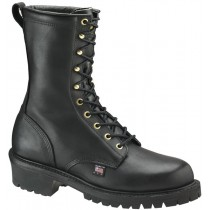 Thorogood 9-in Wildland Fire Boots - Black - Womens