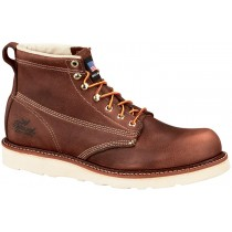 Thorogood 6-in American Heritage Wedge Non-Safety Plain Toe Boots - Brown - Mens