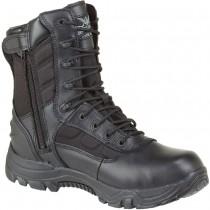 Thorogood Commando II 8-in Waterproof Side Zip Boots - Black - Mens