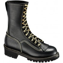 Thorogood 10-in Wildland Fire With Removable Kiltie Boots - Black - Mens