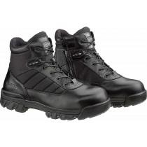 Bates Enforcer Series Ultra-Lites 5-in Composite Safety Toe Side Zip Boots - Black - Mens