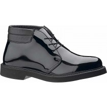 Bates Lites Padded Collar High Gloss Chukka Shoes - Black - Mens