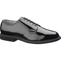 Bates Premium Black High Gloss Oxford Shoes - Black - Mens