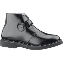 Bates Lites Buckle Leather Chukka Shoes - Black - Mens