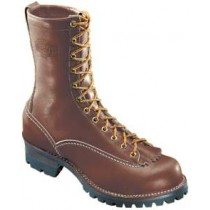 Wesco Jobmaster 10-in Lace-To-Toe Brown Boots - Brown - Mens