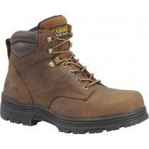 Carolina CA3026 6-inch Waterproof Boots - Brown - Mens