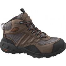 Carolina 6549 Delray Steel Toe Highcut Trail Hiker Boots - Brown - Mens