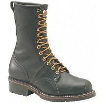 Carolina 1905 10-in Steel Toe Poleclimber Boots - Black - Mens